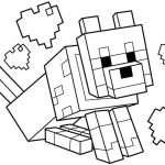 Minecraftの着色ページ