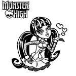 Ausmalbilder Monster High