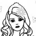 22 En Iyi Barbie Bebek Kız Boyama Sayfaları