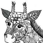 Yetişkinler Için Hayvan Mandala Boyama Sayfaları