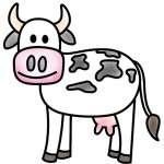¿Cómo Dibujar Vaca? Dibujo Preescolar Fácil De Vaca – Estoy Aprendiendo Paso A Paso Dibujo De Vaca