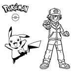 Pokemon GO Boyama Sayfaları