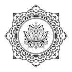 Yazdırılabilir Mandala Boyama Şablonları [PDF]