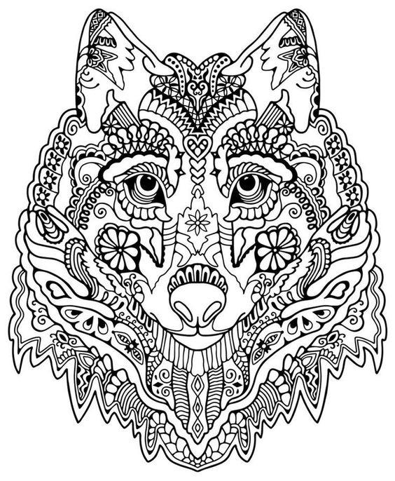 Gratis wolf ausmalbilder 37 Wolfsbilder