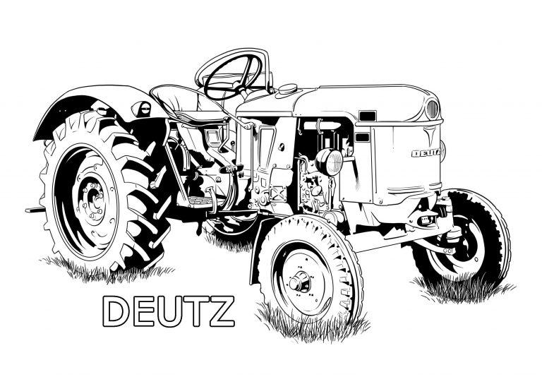 traktor ausmalbilder kostenlos malvorlagen windowcolor zum