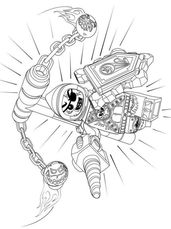 nexo knights ausmalbilder kostenlos malvorlagen