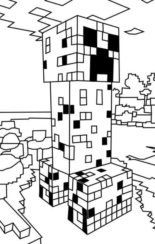 Minecraft Ausmalbilder Kostenlos Malvorlagen Windowcolor ...