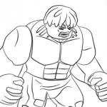 Ausmalbilder Hulk