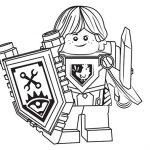 Desenhos de Lego Nexo Knights para Colorir