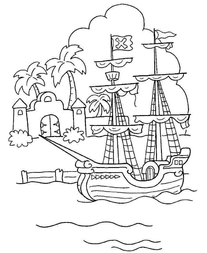 piraten ausmalbilder kostenlos malvorlagen windowcolor zum