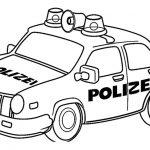 Desenhos de Polícia para colorir