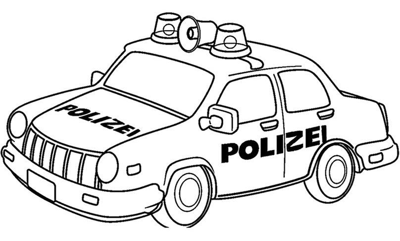 polizei ausmalbilder kostenlos malvorlagen windowcolor zum