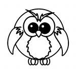 раскраски совы
