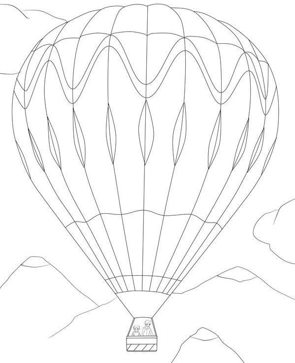 balloon ausmalbilder kostenlos malvorlagen windowcolor zum