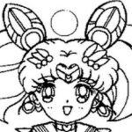 Desenhos do Sailor Moon para colorir