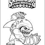 Desenhos de Skylanders para colorir
