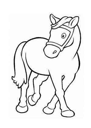 pony ausmalbilder kostenlos malvorlagen windowcolor zum drucken