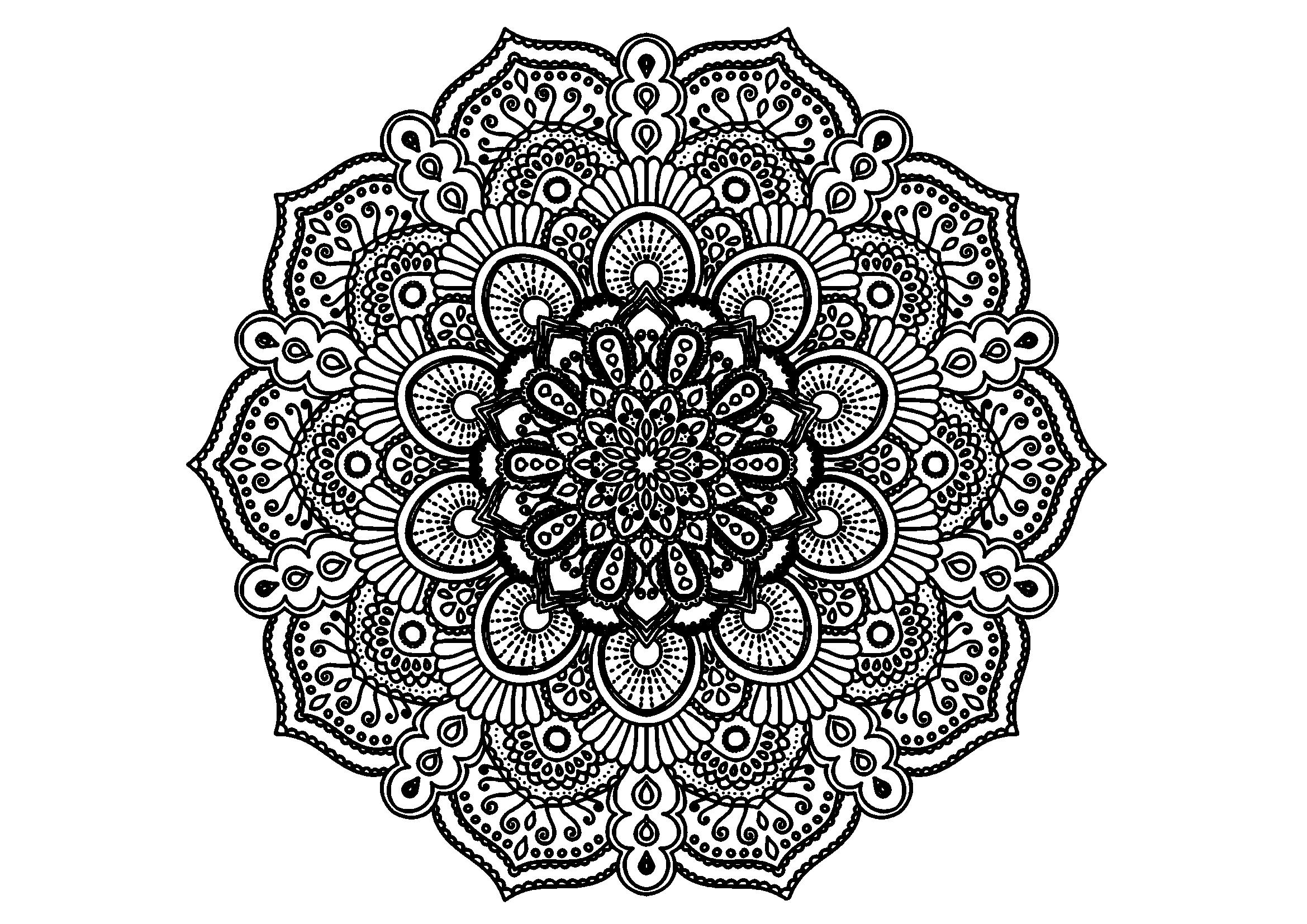 Mandala Ausmalbilder Kostenlos Malvorlagen Windowcolor Zum Drucken