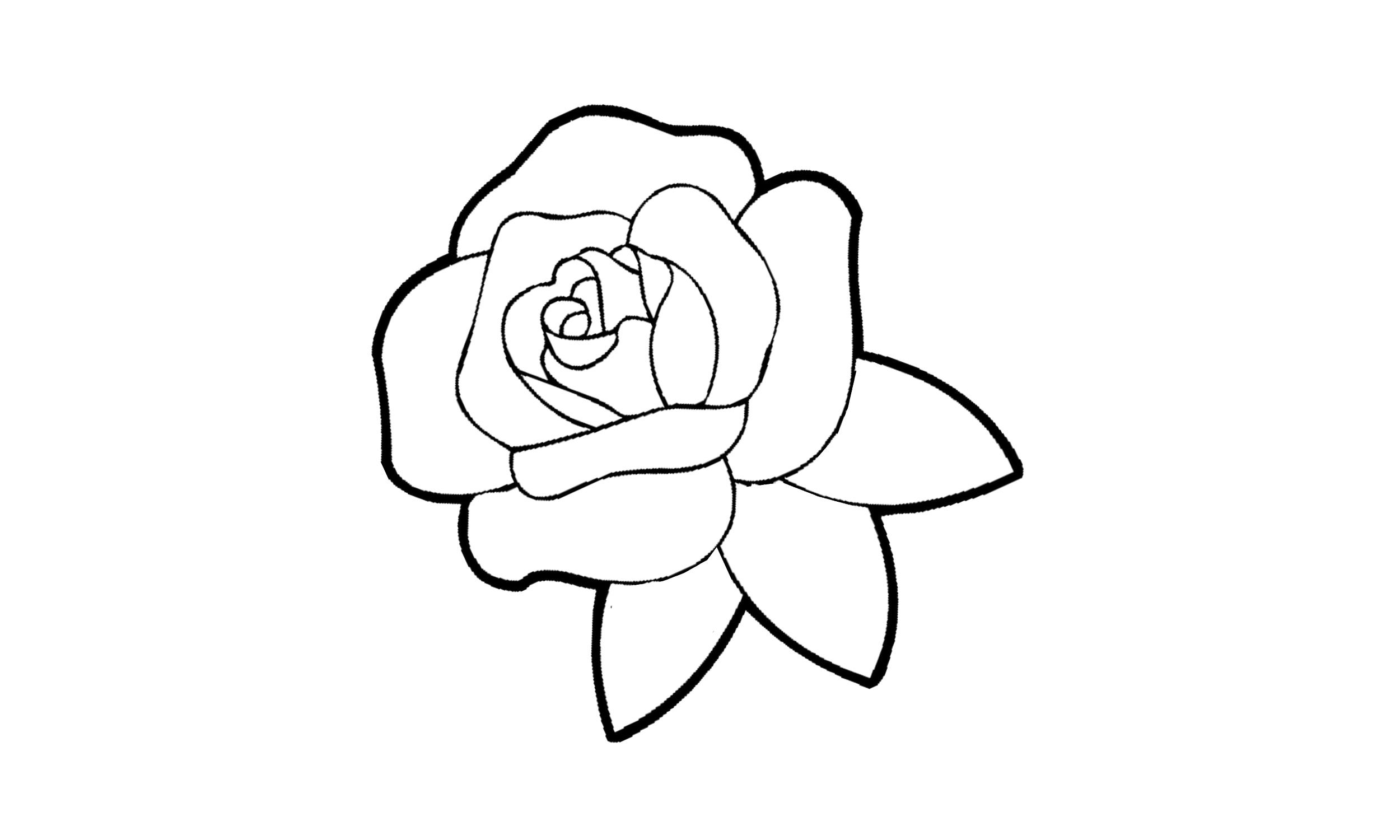 Ausmalen blumen zum bilder kostenlos Blüten Zum