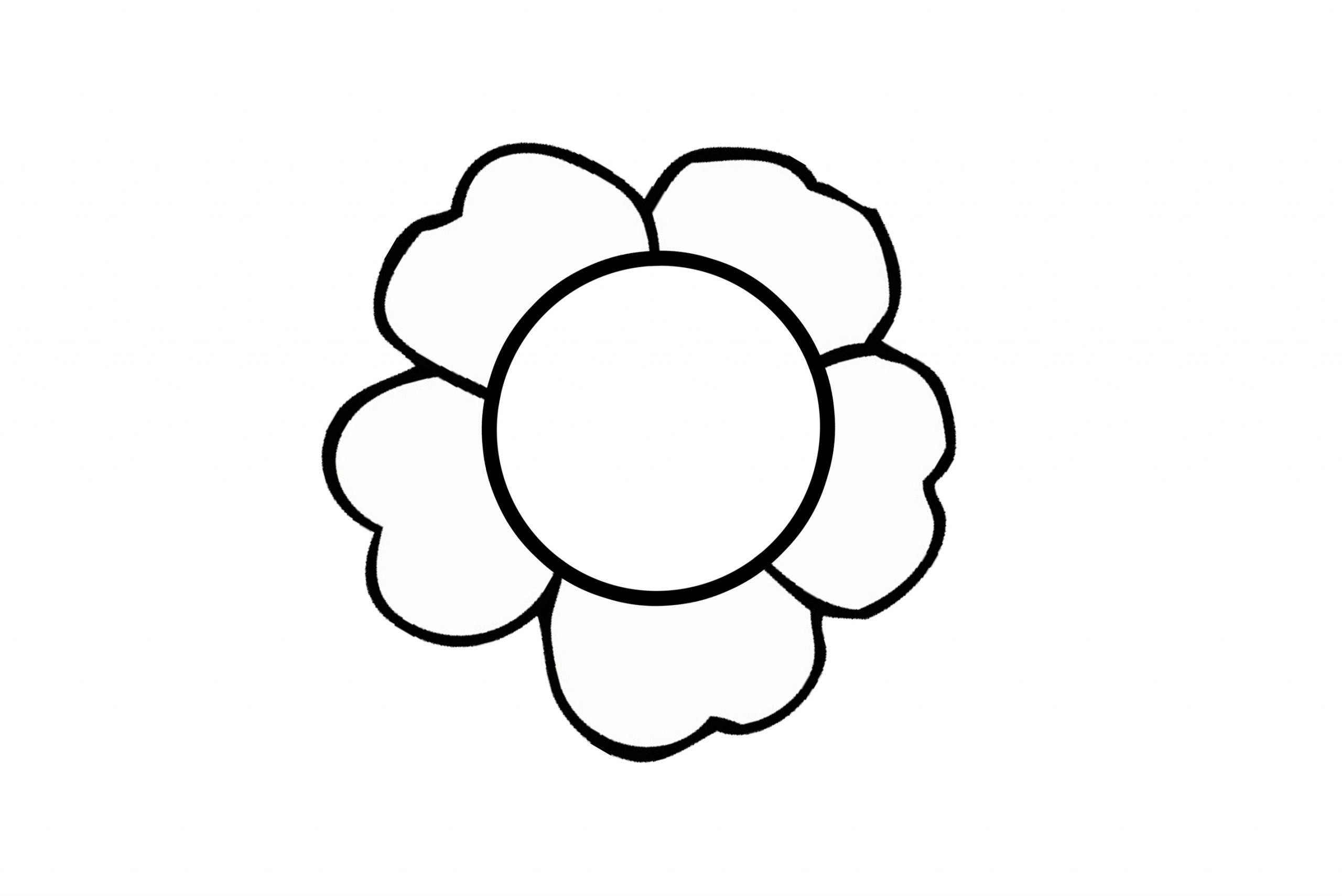 Blumen Ausmalbilder Kostenlos Malvorlagen Windowcolor zum Drucken