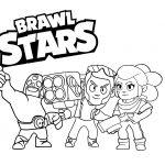 18 Desenhos de Brawl Stars para colorir