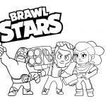 18 раскраски Браво Старс (Brawl Stars)