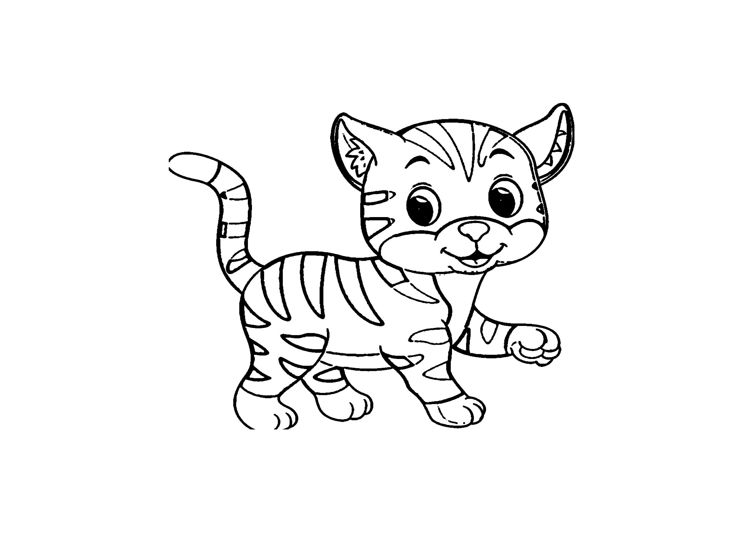 Katzen Ausmalbilder Kostenlos Malvorlagen Windowcolor zum Drucken