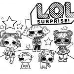 28 Desenhos para colorir das bonecas lol surpresa