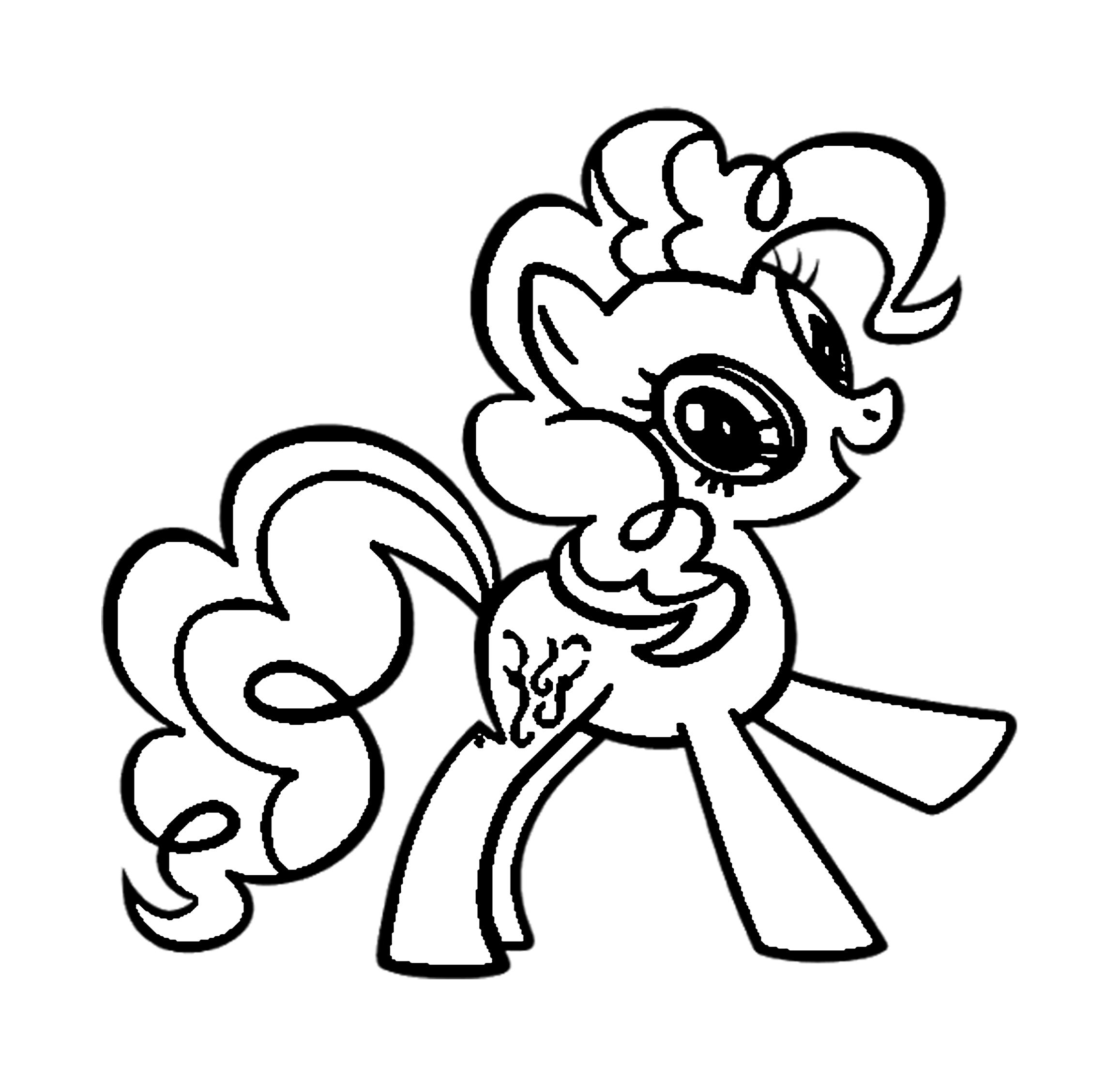 My Little Pony Ausmalbilder Kostenlos Malvorlagen Windowcolor zum
