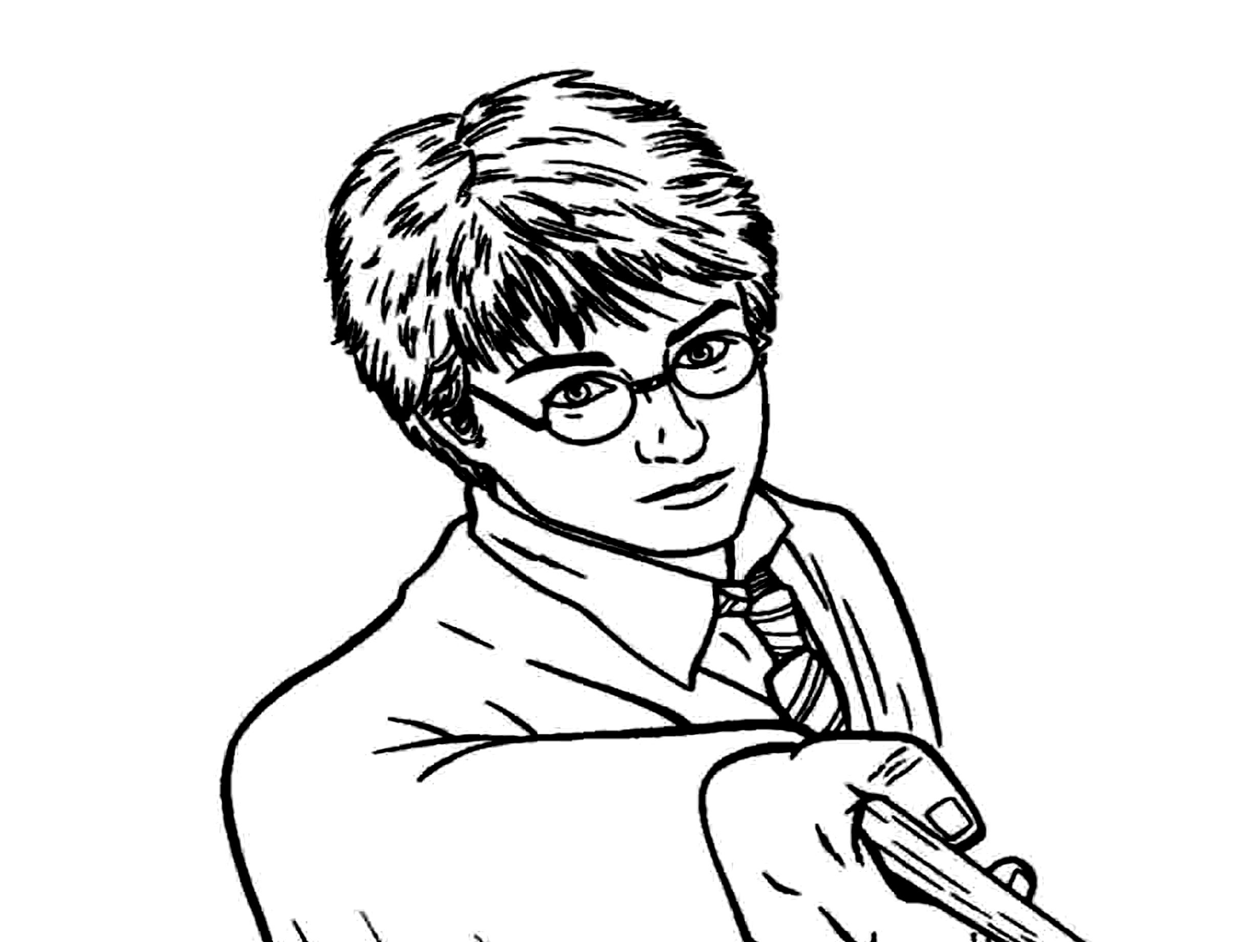 Harry Potter Ausmalbilder Kostenlos Malvorlagen Windowcolor zum