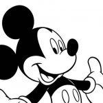 Desenhos do Mickey Mouse para colorir