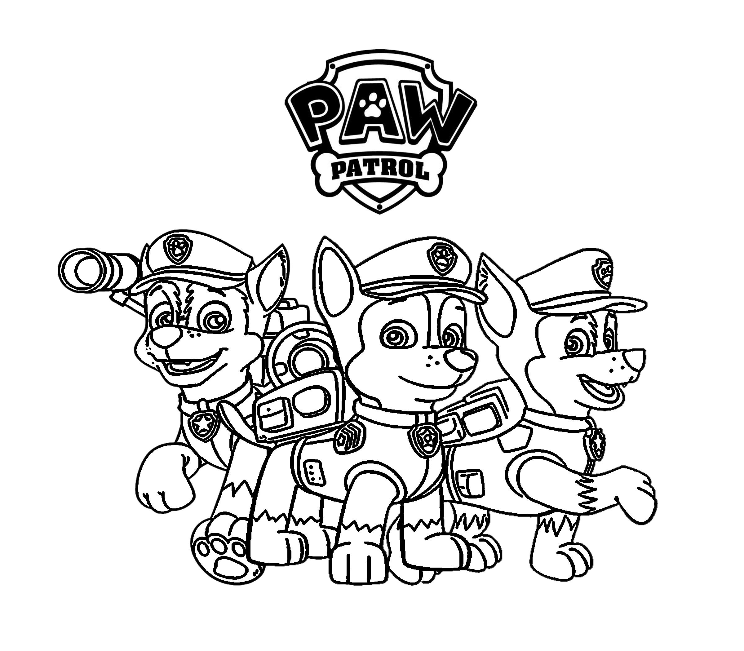 Paw Patrol Ausmalbilder Kostenlos Malvorlagen Windowcolor zum Drucken