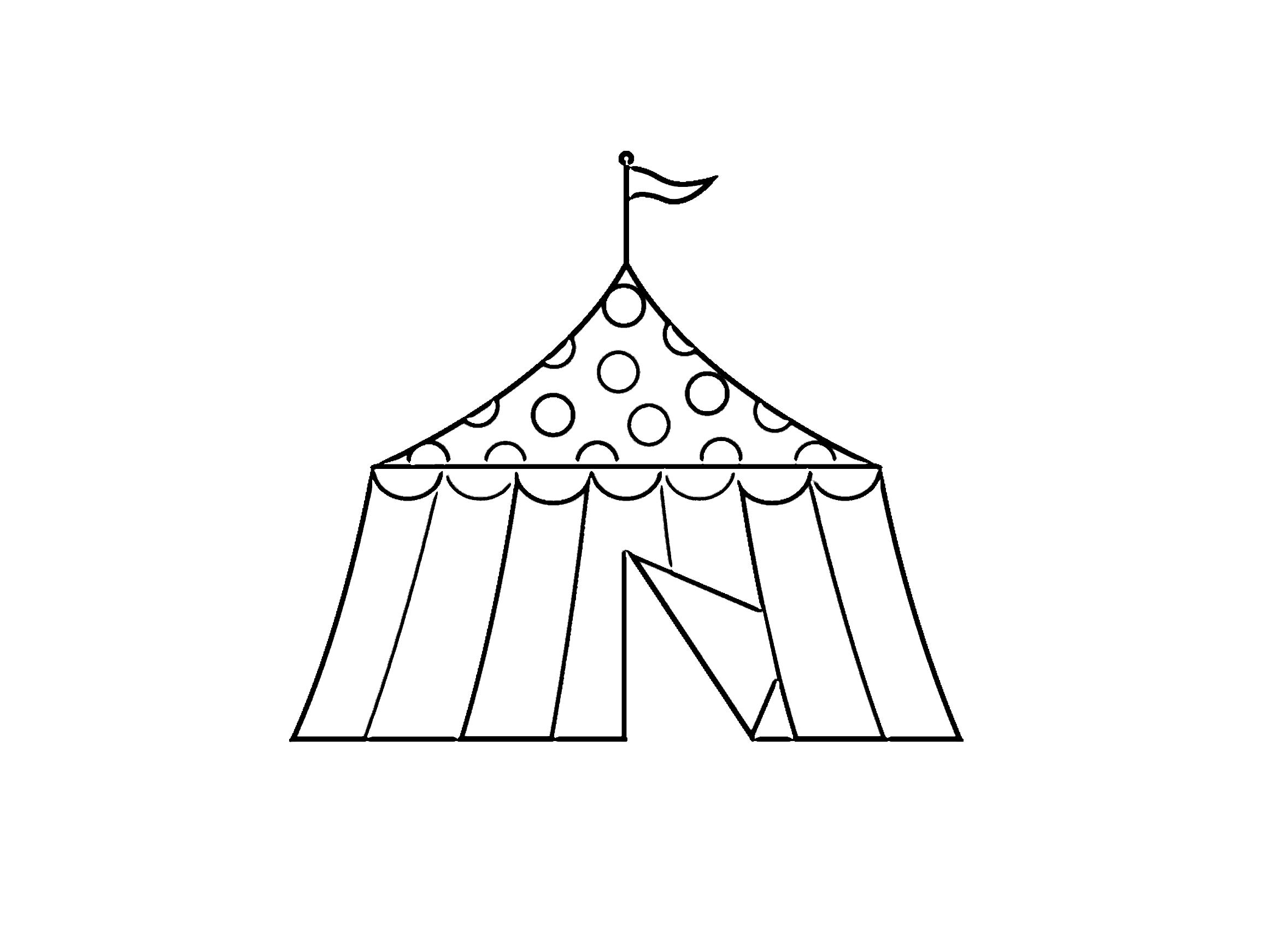 zirkus ausmalbilder kostenlos malvorlagen windowcolor zum