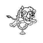 desenhos de Circo para colorir